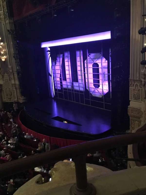 James M. Nederlander Theatre, section: Loge - Box 2, row: A, seat: 372/374