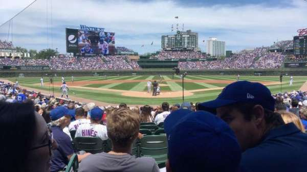 Wrigley Field, section: 118, row: 3, seat: 2