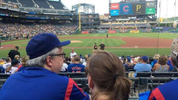 PNC Park, section: 110, row: C, seat: 11