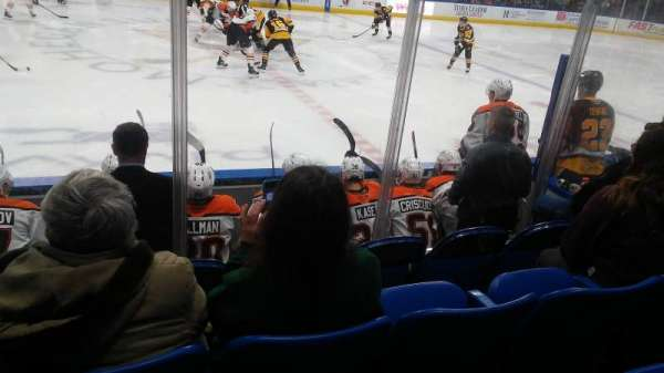 Mohegan Sun Arena at Casey Plaza, section: 104, row: F, seat: 19