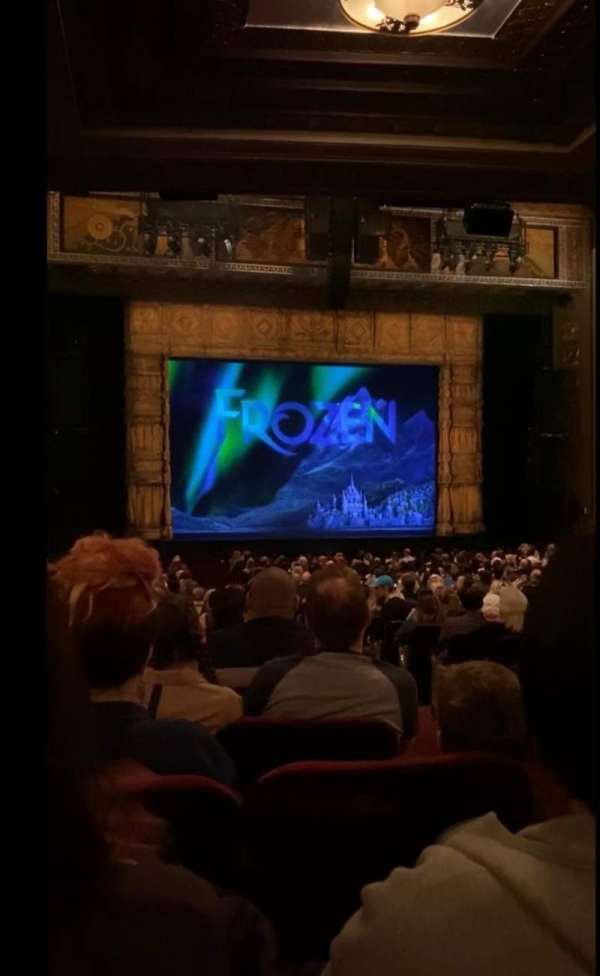 Hollywood Pantages Theatre, section: Orchestra LC, row: RR, seat: 302