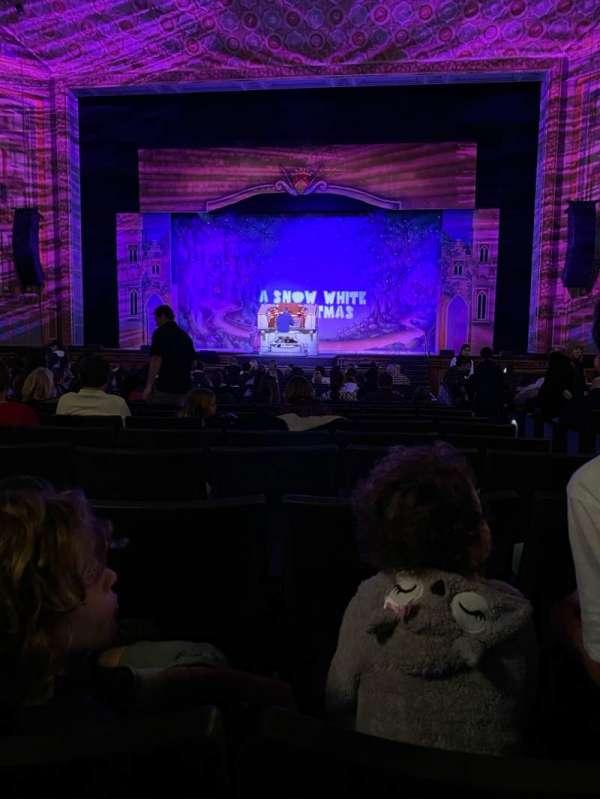 Pasadena Civic, section: ORCH C, row: V, seat: 100
