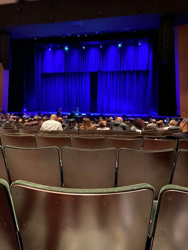 Terrace Theater, section: ORCH, row: 15, seat: 25