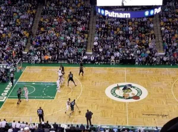 TD Garden, section: Bal 302, row: 4, seat: 11&12