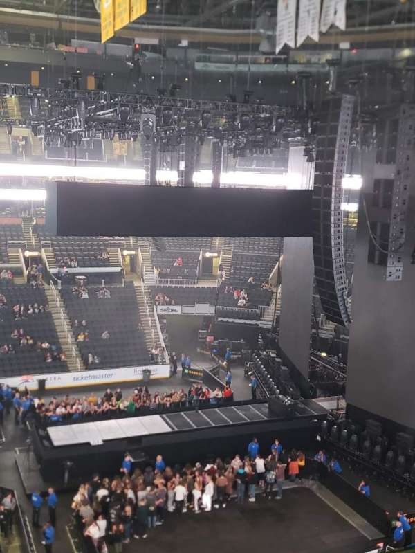 TD Garden, section: Bal 330, row: 1, seat: 17and18