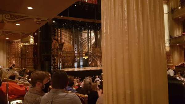 Academy of Music, section: Parquet circle G, row: U, seat: 21
