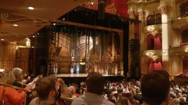 Academy of Music, section: Parquet circle G, row: U, seat: 23