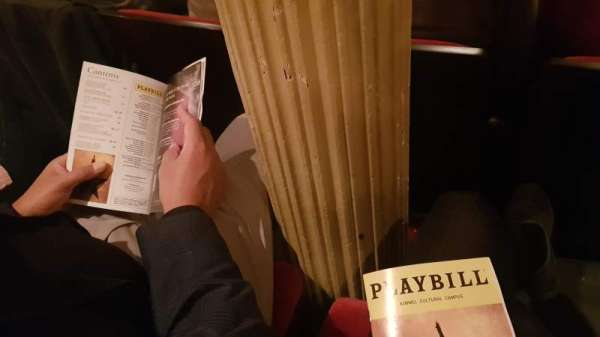 Academy of Music, section: Parquet circle G, row: U, seat: 21-23