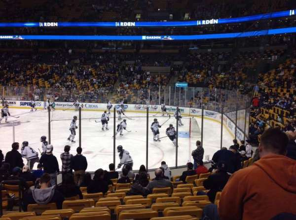 TD Garden, section: LOGE 20, row: 13, seat: 14