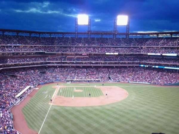 Citizens Bank Park, section: 304, row: 11, seat: 12