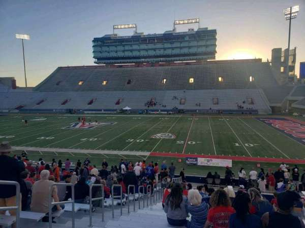 Arizona Stadium, section: 2, row: 29, seat: 23