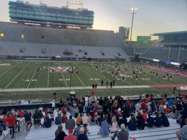 Arizona Stadium, section: 4, row: 26, seat: 21