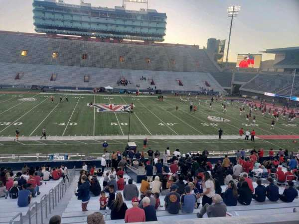 Arizona Stadium, section: 4, row: 27, seat: 24