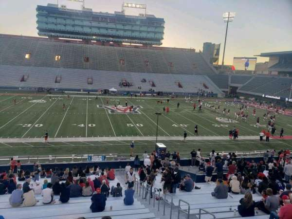 Arizona Stadium, section: 5, row: 28, seat: 6