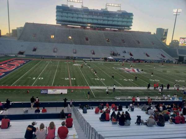 Arizona Stadium, section: 7, row: 29, seat: 22