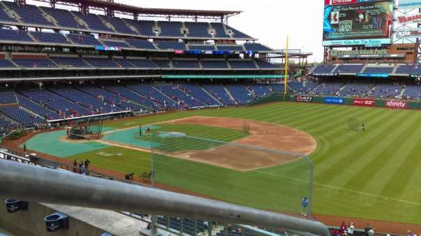 Citizens Bank Park, section: 211, row: 2, seat: 9