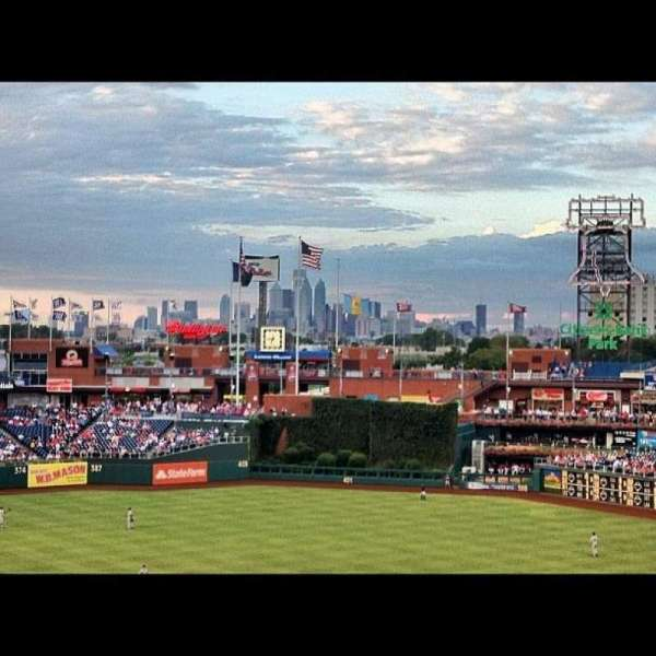 Citizens Bank Park, section: 219, row: 6, seat: 7