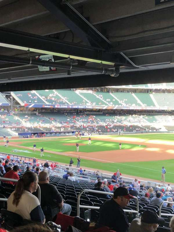 SunTrust Park, section: 112, row: 20, seat: 21