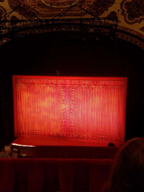 Cadillac Palace Theater, section: Balcony RC, row: E, seat: 321