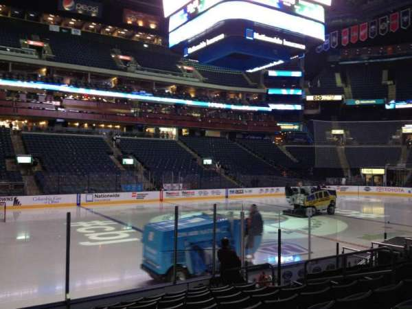 Nationwide Arena, section: 105, row: K, seat: 10