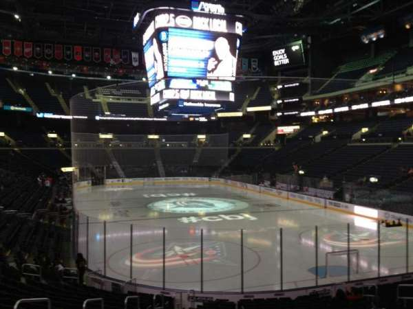 Nationwide Arena, section: 110, row: T, seat: 15