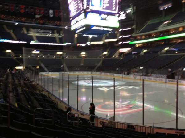 Nationwide Arena, section: 111, row: L, seat: 8
