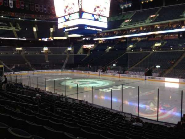 Nationwide Arena, section: 112, row: R, seat: 7