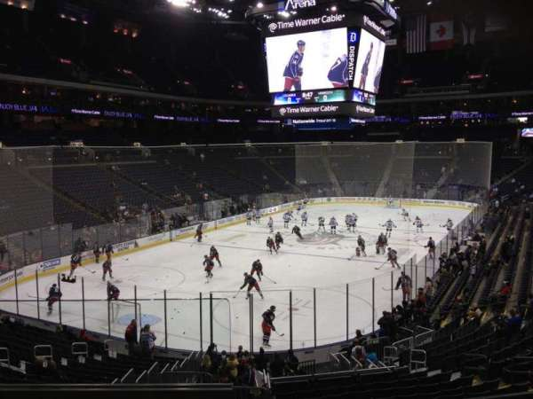 Nationwide Arena, section: 118, row: DD, seat: 13