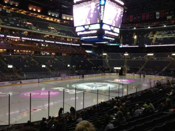 Nationwide Arena, section: 106, row: S, seat: 21
