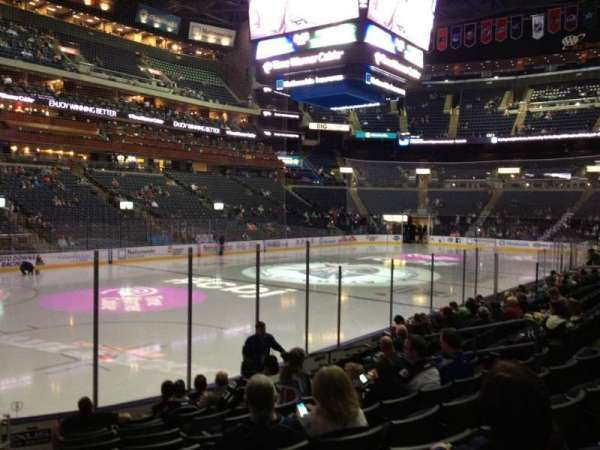 Nationwide Arena, section: 106, row: L, seat: 16
