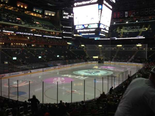 Nationwide Arena, section: 107, row: U, seat: 17