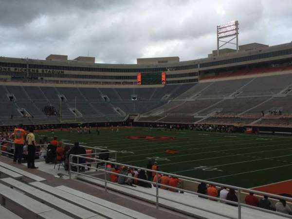 Boone Pickens Stadium, section: 201, row: 7, seat: 3