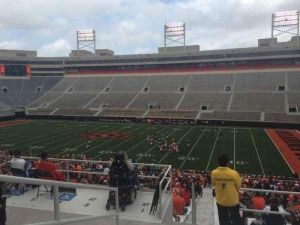 Boone Pickens Stadium, section: 302, row: 7, seat: 50