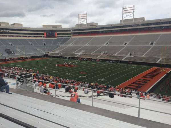 Boone Pickens Stadium, section: 301, row: 8, seat: 4
