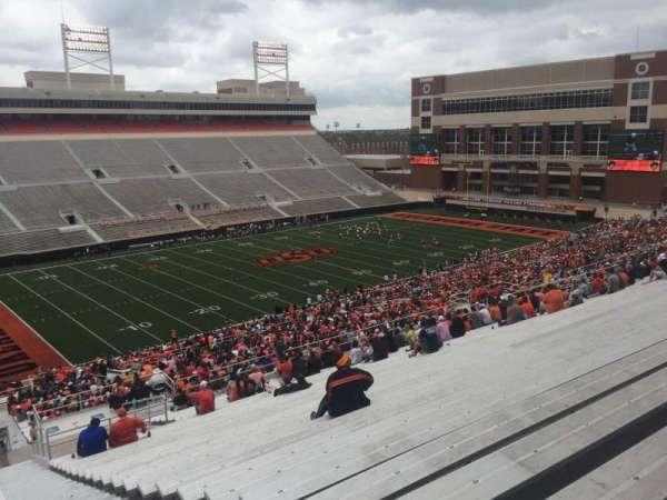 Boone Pickens Stadium, section: 310, row: 30, seat: 1