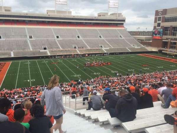 Boone Pickens Stadium, section: 309, row: 19, seat: 1