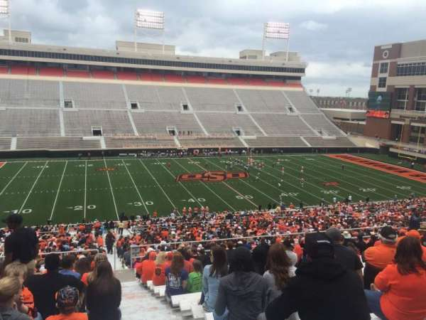 Boone Pickens Stadium, section: 308, row: 19, seat: 1