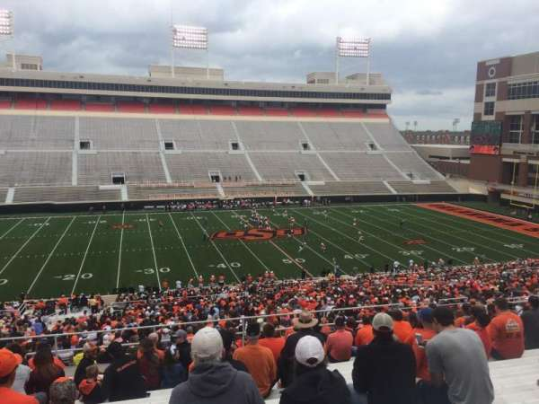 Boone Pickens Stadium, section: 307, row: 18, seat: 18
