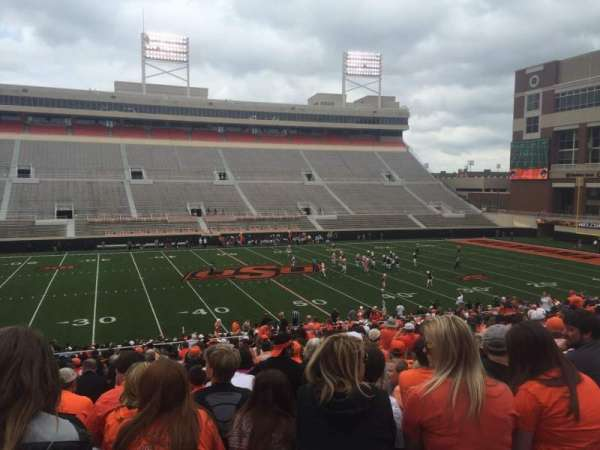 Boone Pickens Stadium, section: 207, row: 27, seat: 11
