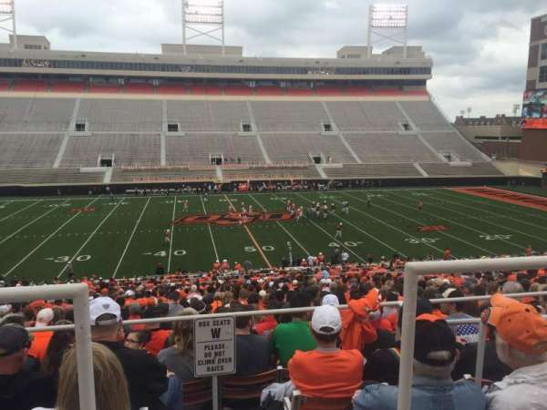 Boone Pickens Stadium, section: 206, row: 1, seat: 15
