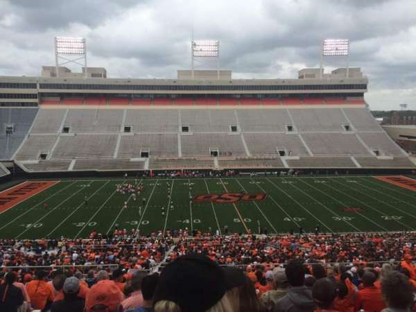 Boone Pickens Stadium, section: 306, row: 22, seat: 20