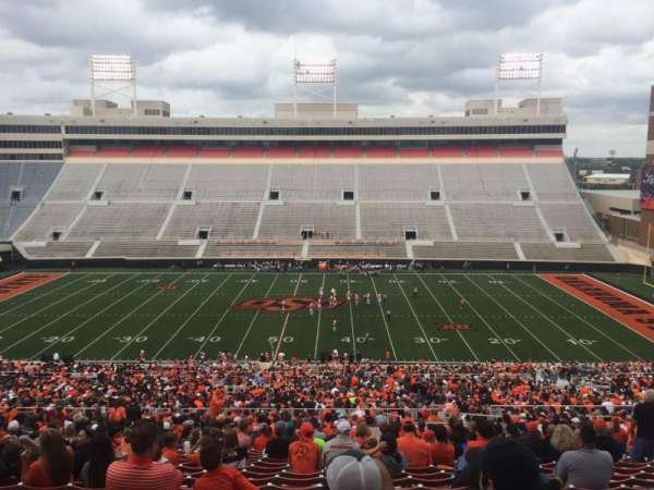 Boone Pickens Stadium, section: 305, seat: 10