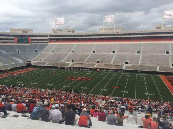 Boone Pickens Stadium, section: 303, row: 25, seat: 9