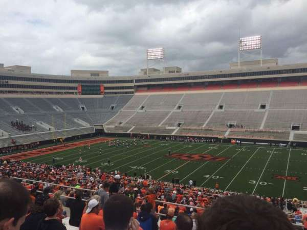 Boone Pickens Stadium, section: 304, row: 11, seat: 1