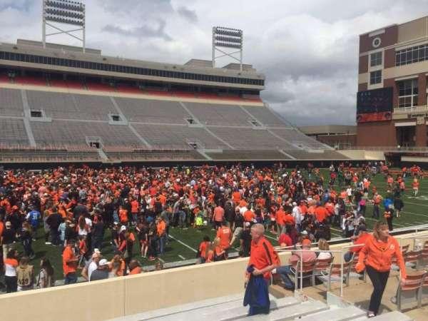 Boone Pickens Stadium, section: 107, row: 11, seat: 10