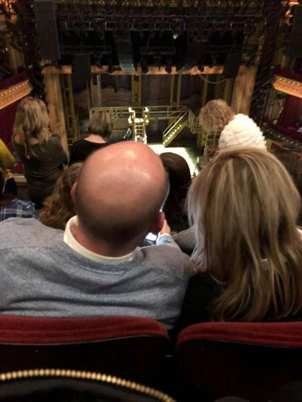 CIBC Theatre, section: Balcony, row: E, seat: 409