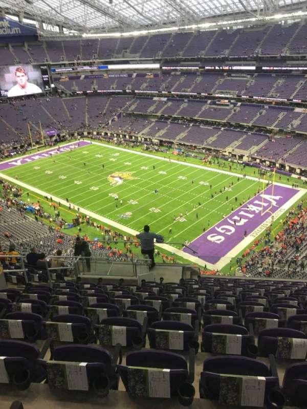 U.S. Bank Stadium, section: 305, row: 12, seat: 12