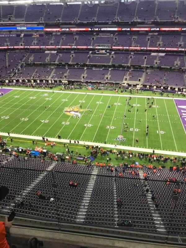 U.S. Bank Stadium , section: 310, row: 2, seat: 14