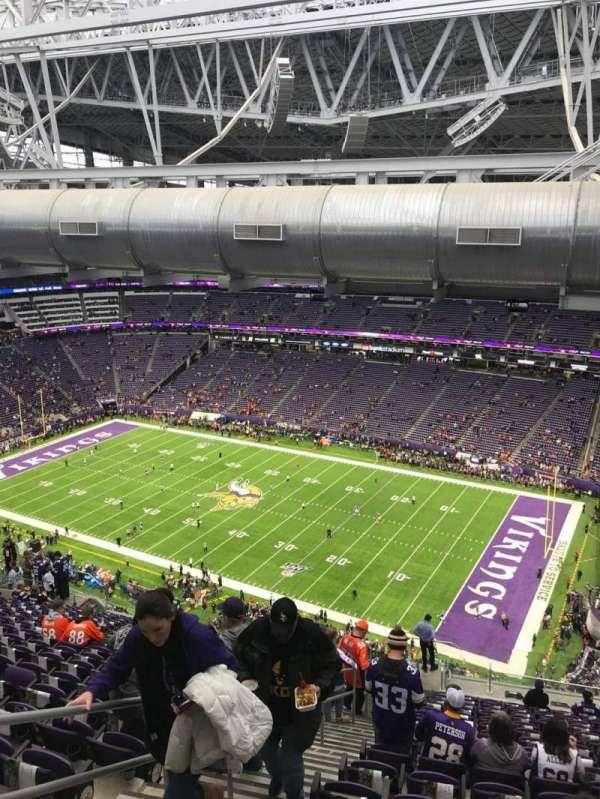 U.S. Bank Stadium, section: 336, row: 21, seat: 12