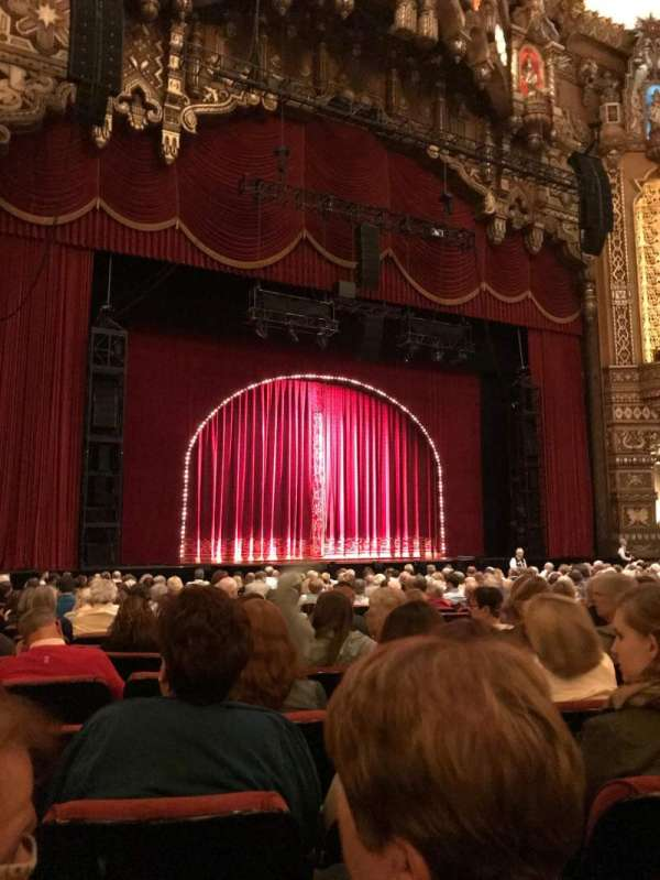 The Fabulous Fox Theatre (St. Louis), section: OR02, row: R, seat: 15